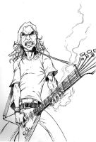 The Man Mustaine by Merrk