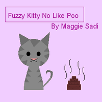 Fuzzy Kitty no like Poo by Myu-Umeko