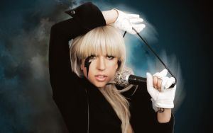 Lady Gaga Wallpaper by lolliethebemused