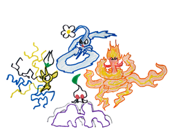 Pikmin Elements by pikmin789