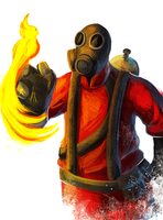 TF2 - Pyro: The Perfect Pet by Essence-Of-Rapture