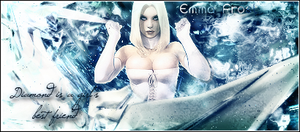 Emma Frost Signature by iTinkerego