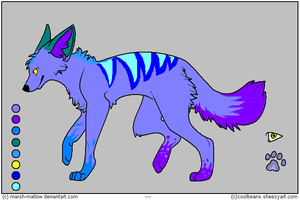 wolf adoptable - 9 SOLD by Adoptables-FalakWolf