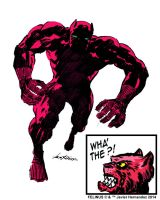 The Pink Panther by javierhernandez