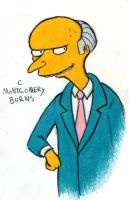 C. Montgomery Burns by harrimaniac27