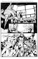 Superman ink sample pg 3 by JonasTrindade