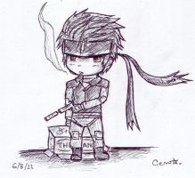 :Snake Chibi: by FlameWolf82