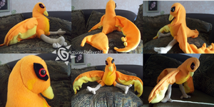 Phoenix Plush by azumioftreali