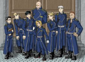 FMA: Dogs of the Military by mystryl-shada