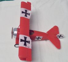 Aircraf of the Aces: Richthofen's Fokker Dr.I by sentinel28a