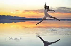 Dancer in the Lake by viamarie