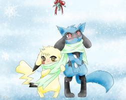 PMD, Under The Mistletoe. by NemiruTami