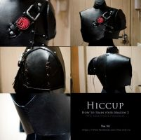 WIP : Hiccup (Httyd2) - brestplate by theonlyVU