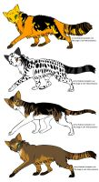 Warrior Cat Adoptables by DarkSong666
