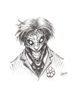 Joker sketch by VASS-comics