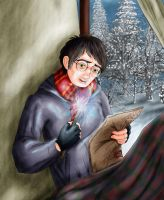 Harry watching Ginny by Hollyboo2001