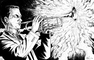 trumpet player commission by davechisholm