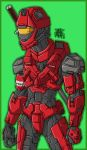 Ninja Spartan by AntManTheMagnif