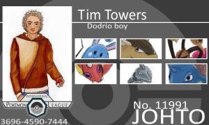 Trainer-Tim Towers by Pokemon-League
