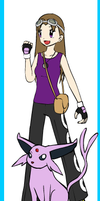 Pokemon Trainer Molly by Purplefox135