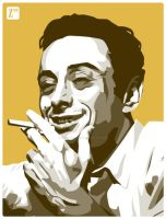 Lenny Bruce by monsteroftheid