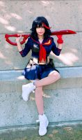 Ryuko Matoi Cosplay by TechnoRanma