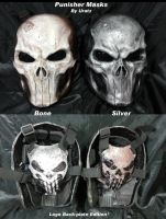 2013 Punisher Masks by Uratz-Studios