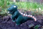 Dinky the T-Rex by DirtScraps