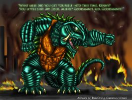 SD Gamera by RenDragonClaw
