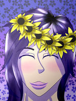 Flower Queen- IhasCupquake by MoonaHenaBAwsome