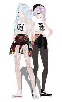 [NC]TDA K-Pop Miku and Teto and more in wip! by ThisisKENZ