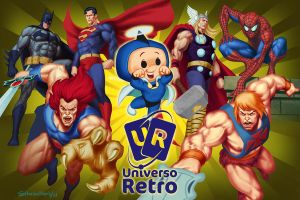 Universo retro banner by thesilvabrothers