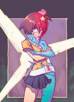 Space Patrol Luluco by rockmor