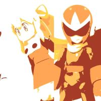 Roll and Protoman by DevintheCool