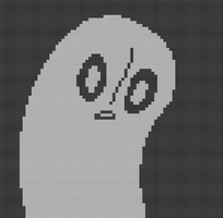 Napstablook by madam--guillotine