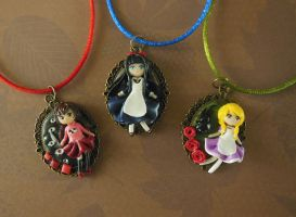 RPG Horror Girl Cameos by LittleBreeze