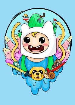 Finn the Human by falt-photo