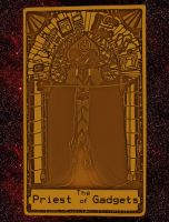 SF Tarot: Priest of Gadgets by Kisaki-Shattoriboshi
