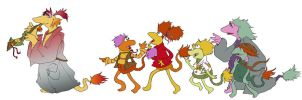 Follow Your Song -  Fraggle Rock by mammalfeathers
