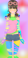.:Pretty Little Rave Girl:. by alexpc901