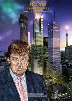 Donald Trump.. Art Work by arihoff