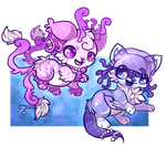 :Jellyfishies: by PrePAWSterous