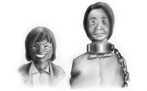 Caricatures - Slave by tedil
