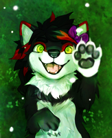 YCH: Jolenesnowpaw by Pand-ASS