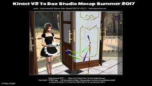 Youtube video - Kinect V2 to Daz Studio - soon by mCasual
