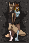 one sorrow for two by Satuka