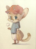 Little Leaguer by tinysnail