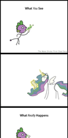 TMS ~ First Class Derp ~ Full Strip by LiraCrown