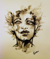 Ink Face by YLimes