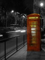 London at night by spuppet202